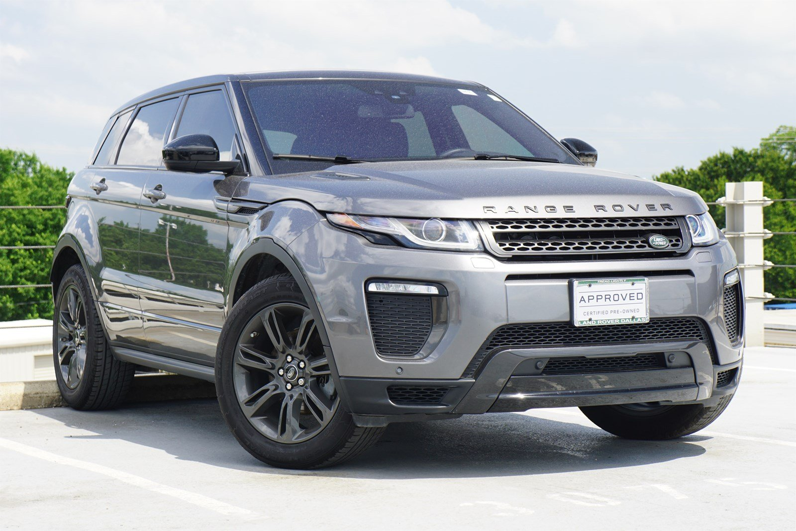 Land Rover Frisco >> Certified Pre Owned 2018 Land Rover Range Rover Evoque Landmark