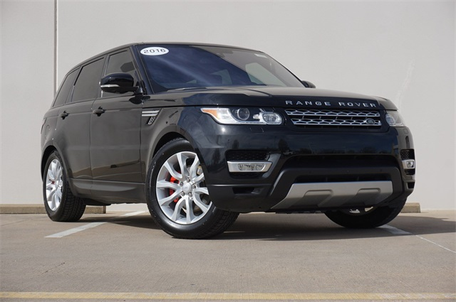 Land Rover Frisco >> Certified Pre Owned 2016 Land Rover Range Rover Sport 3 0l V6